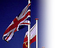 British and Gibraltar Flags - Gibraltar Tours - Gibraltar - Rock Of Gibraltar - Weekend Breaks - Pillars of Hercules - History of the Rock of Gibraltar - Holidays in Gibraltar -Gibraltartours.org